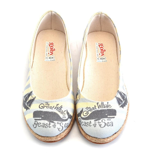 GOBY Ballerinas Shoes FBR1233 Women Ballerinas Shoes - Goby Shoes UK