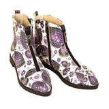 GOBY Butterflies Ankle Boots FER101 Women Ankle Boots Shoes - Goby Shoes UK