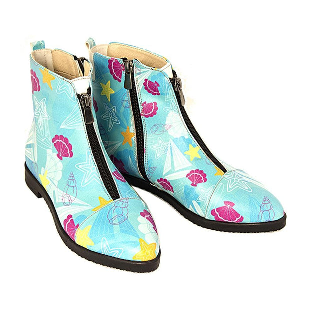 Seashells Ankle Boots FER103
