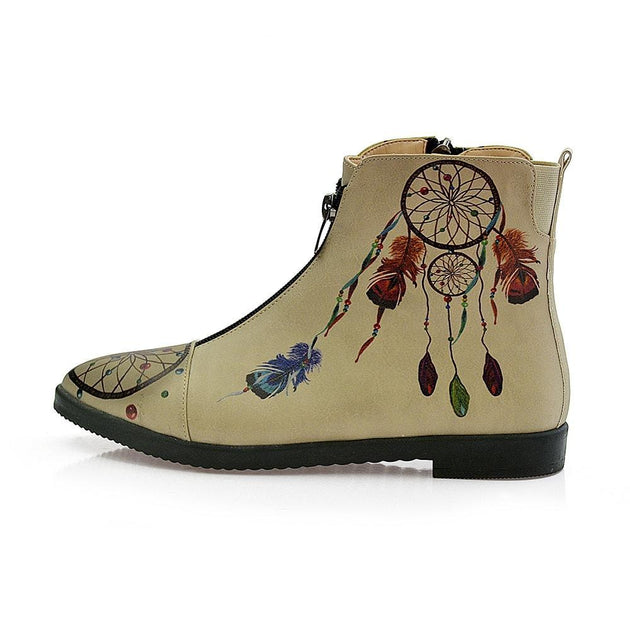 GOBY Dream Trap Ankle Boots FER108 Women Ankle Boots Shoes - Goby Shoes UK