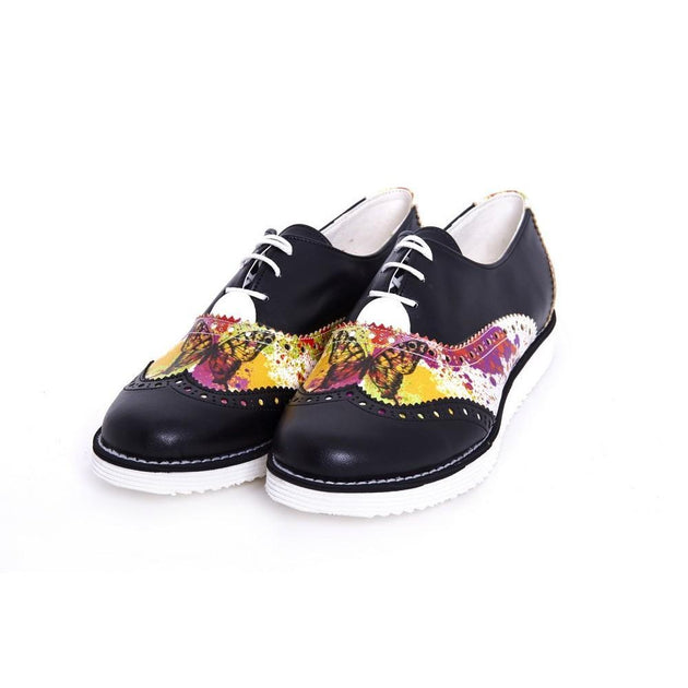 Butterfly Oxford Shoes GNG102