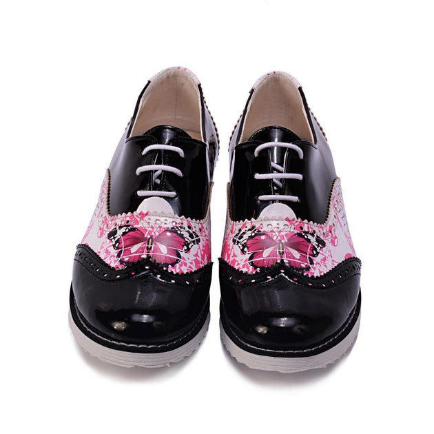 Butterfly Oxford Shoes GNG204
