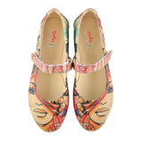 GOBY Beautiful Face Ballerinas Shoes GOB102 Women Ballerinas Shoes - Goby Shoes UK