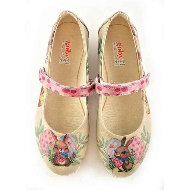 GOBY Ballerinas Shoes GOB103 Women Ballerinas Shoes - Goby Shoes UK
