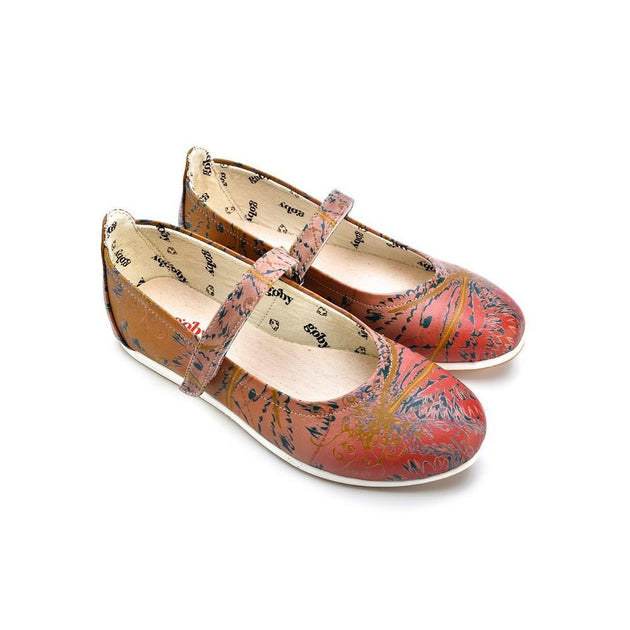 GOBY Ballerinas Shoes GOB111 Women Ballerinas Shoes - Goby Shoes UK