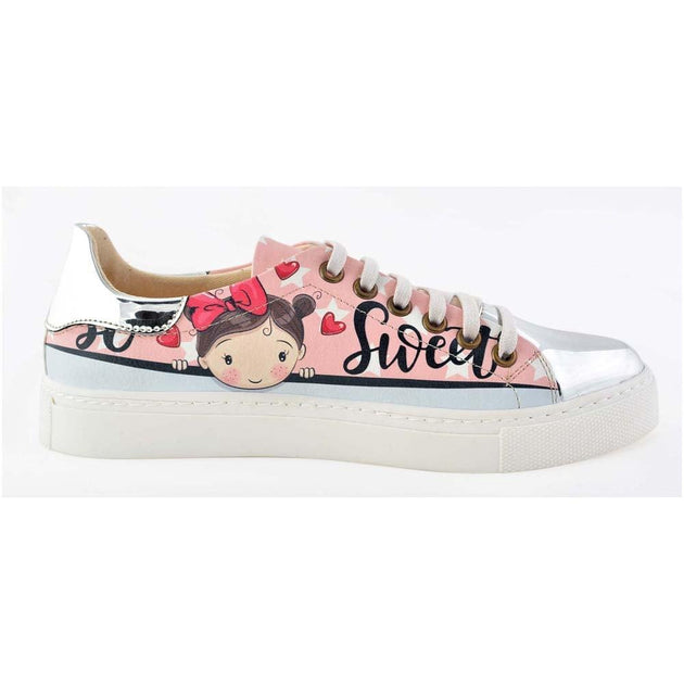 Sweet Girl Slip on Sneakers Shoes GOB202