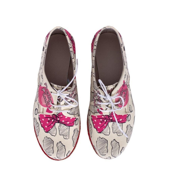 Pretty Pink Slip on Sneakers Shoes HSB1686