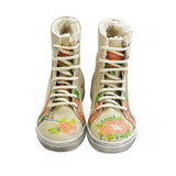 GOBY Flowers Short Boots JAS101 Women Short Boots Shoes - Goby Shoes UK