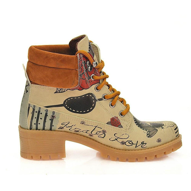 Pirates Love Short Boots KAT107