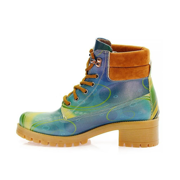 Magic of Colors Short Boots KAT110