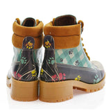 GOBY Cool Dog Short Boots KAT112 Women Short Boots Shoes - Goby Shoes UK