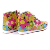 Flowers Short Boots LND1121