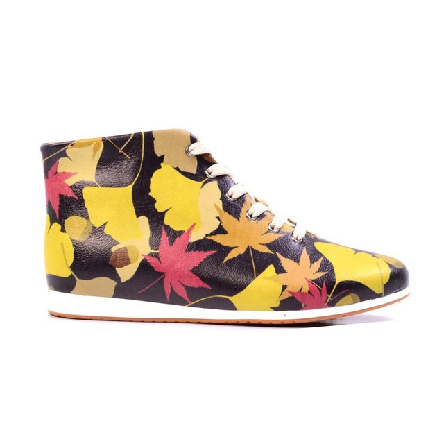 Leaves Short Boots LND1134