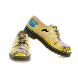 GOBY Dog Party Oxford Shoes MAX104 Women Oxford Shoes - Goby Shoes UK