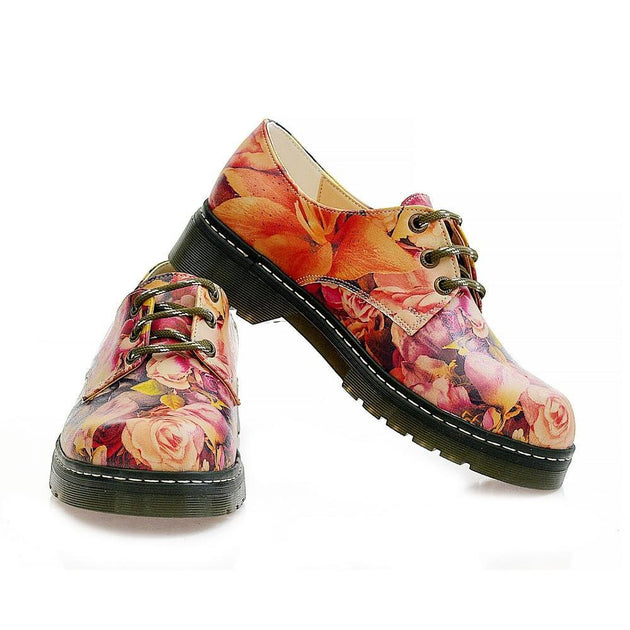 Roses Oxford Shoes MAX115