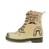 The Mustache Long Boots MRT105