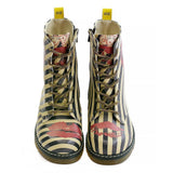 GOBY Kisses Long Boots MRT106 Women Long Boots Shoes - Goby Shoes UK