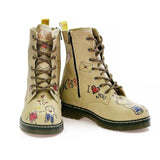 GOBY I Love You Long Boots MRT108 Women Long Boots Shoes - Goby Shoes UK