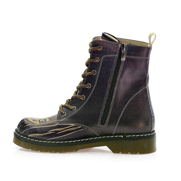 GOBY Heres Johnny Long Boots MRT121 Women Long Boots Shoes - Goby Shoes UK