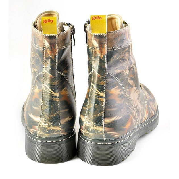 GOBY Long Boots MRT130 Women Boots Shoes - Goby Shoes UK