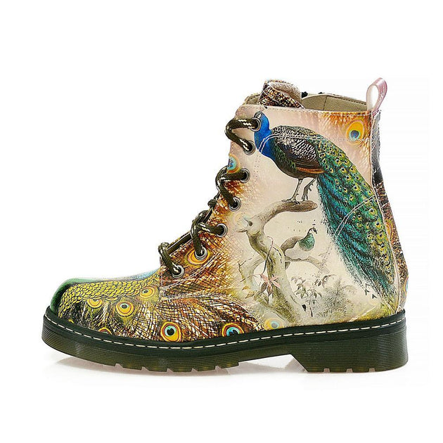 Peacock Long Boots NMAR114