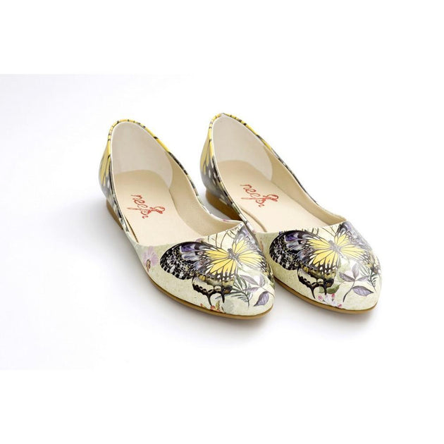 Butterfly Ballerinas Shoes NSS359, Goby, NEEFS Ballerinas Shoes