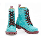 Pattern Long Boots NTM1007