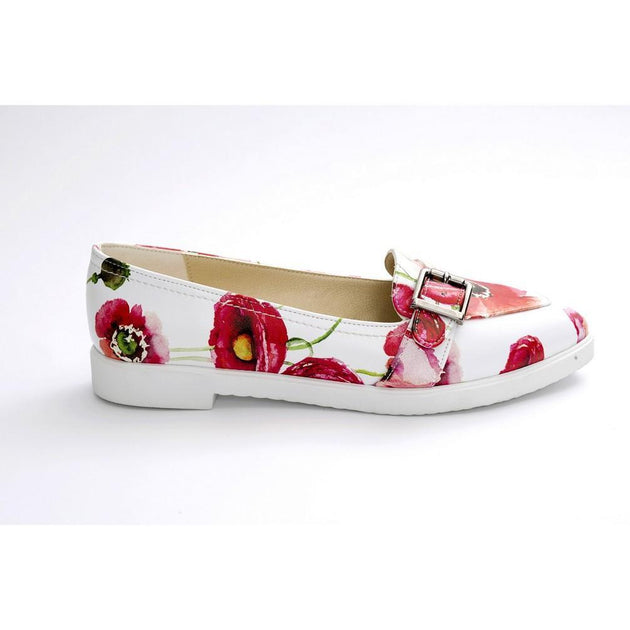 Flowers Slip on Sneakers Shoes NTS411 - Goby NEEFS Slip on Sneakers Shoes