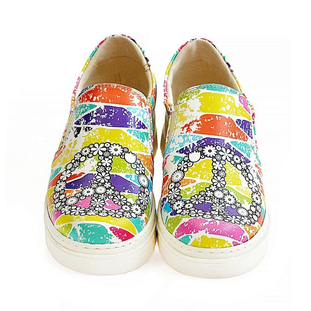 Peace Slip on Sneakers Shoes NVN117