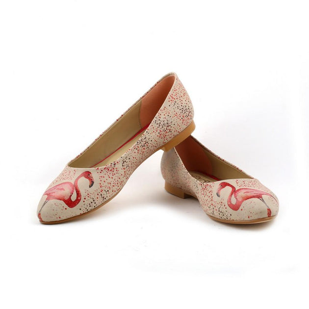 Flamingo Ballerinas Shoes NVR203 - Goby NEEFS Ballerinas Shoes