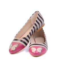 Butterfly Ballerinas Shoes NVR204, Goby, NEEFS Ballerinas Shoes