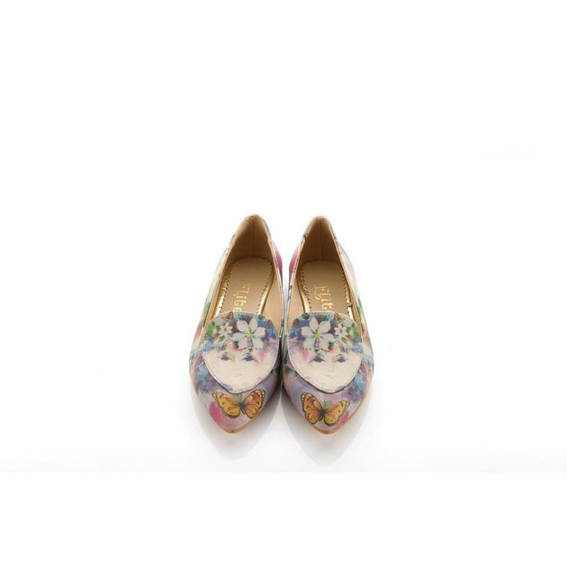 Flower Girl and Butterfly Ballerinas Shoes OMR7208