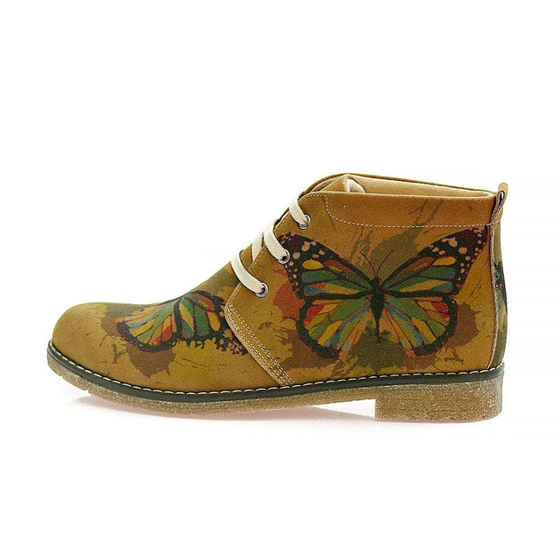 GOBY Butterfly Ankle Boots PH105 Women Ankle Boots Shoes - Goby Shoes UK
