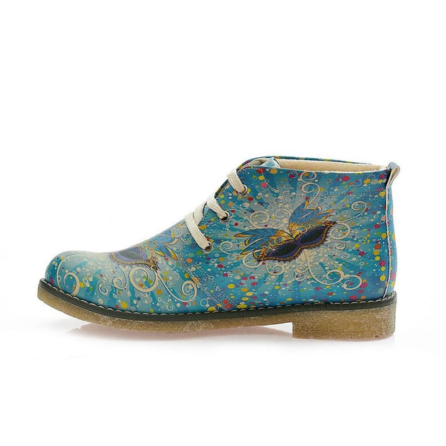GOBY Butterfly Ankle Boots PH204 Women Ankle Boots Shoes - Goby Shoes UK
