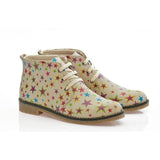 GOBY Stars Ankle Boots PH211 Women Boots Shoes - Goby Shoes UK