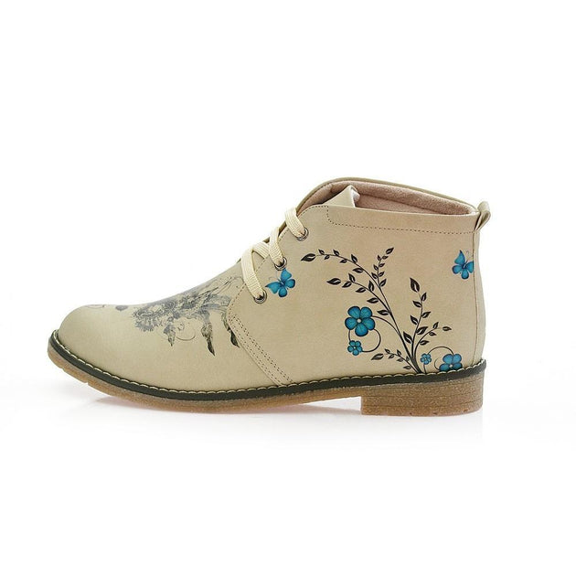 GOBY Masked Girl Ankle Boots PH212 Women Boots Shoes - Goby Shoes UK