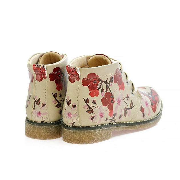 GOBY Sakura Ankle Boots PH219 Women Boots Shoes - Goby Shoes UK