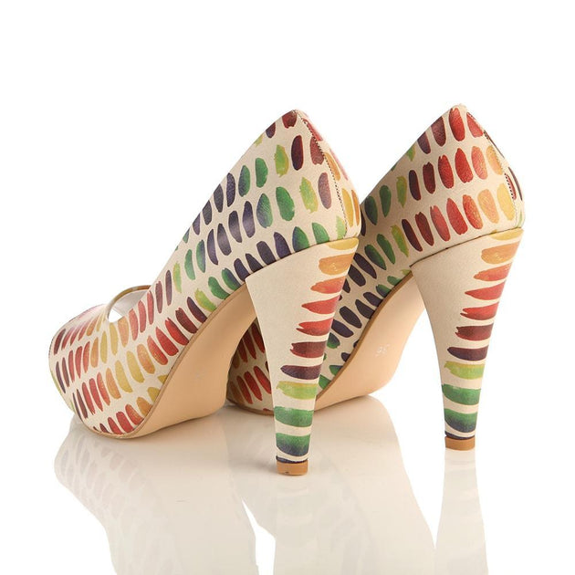 Touch to Colors Heel Shoes PLT2044