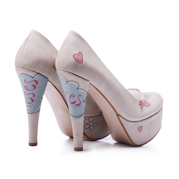 I Love You Heel Shoes PLT2057