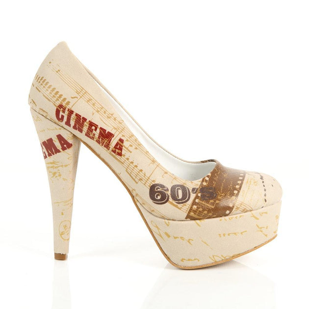 Cinema Time Heel Shoes PLT2036