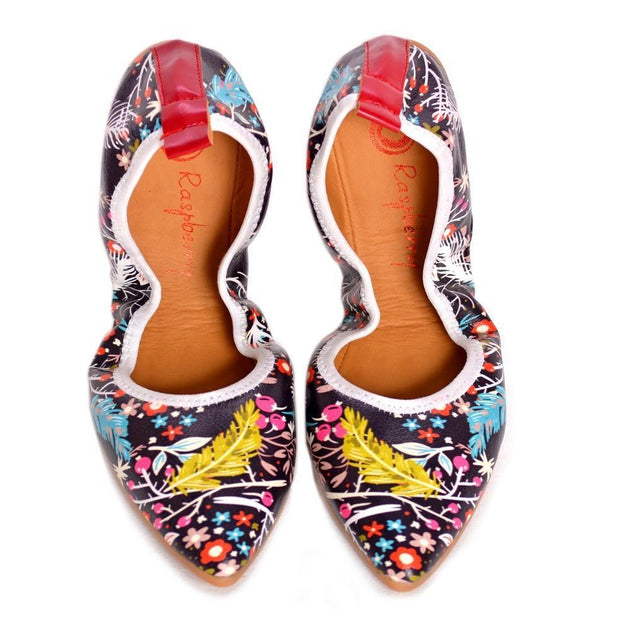 Flowers Ballerinas Shoes RAS2501