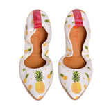 Pineapple Ballerinas Shoes RAS2502