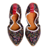 Pattern Ballerinas Shoes RAS2511