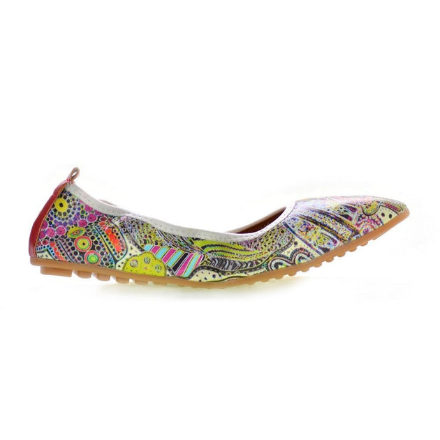Pattern Ballerinas Shoes RAS2512