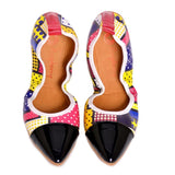 Pattern Ballerinas Shoes RAS2601