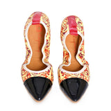 Pattern Ballerinas Shoes RAS2604