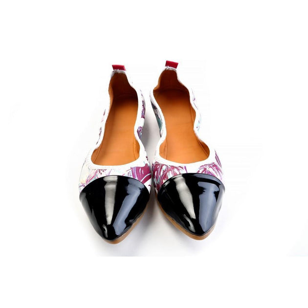 Ballerinas Shoes RAS2616, Goby, RASPBERRY Ballerinas Shoes