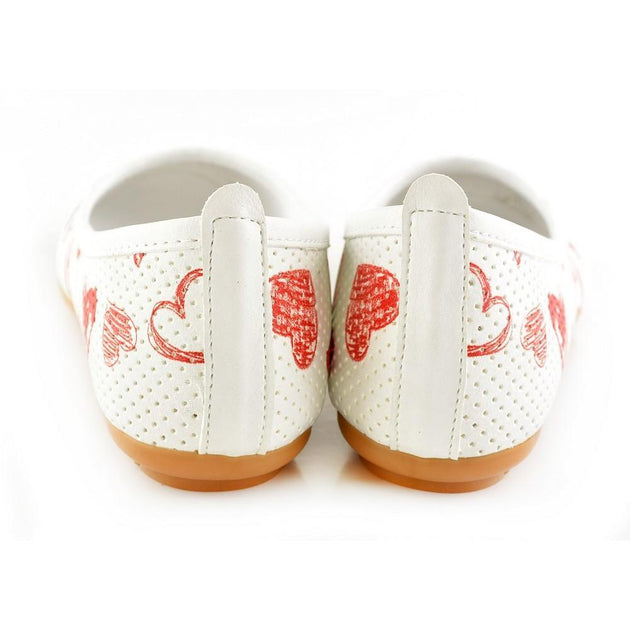 Ballerinas Shoes RDB104, Goby, RASPBERRY Ballerinas Shoes