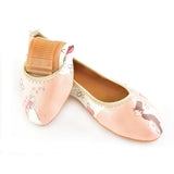 Ballerinas Shoes RSD104, Goby, RASPBERRY Ballerinas Shoes