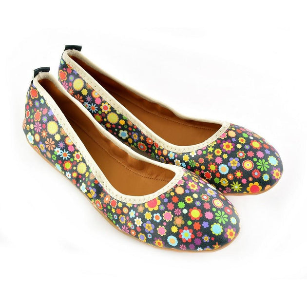 Flowers Ballerinas Shoes RSP104